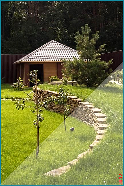Landscaping On A Hill Image By Cfas Auxilium On Landscaping On A Hill Backyard Landscaping Landscape Design