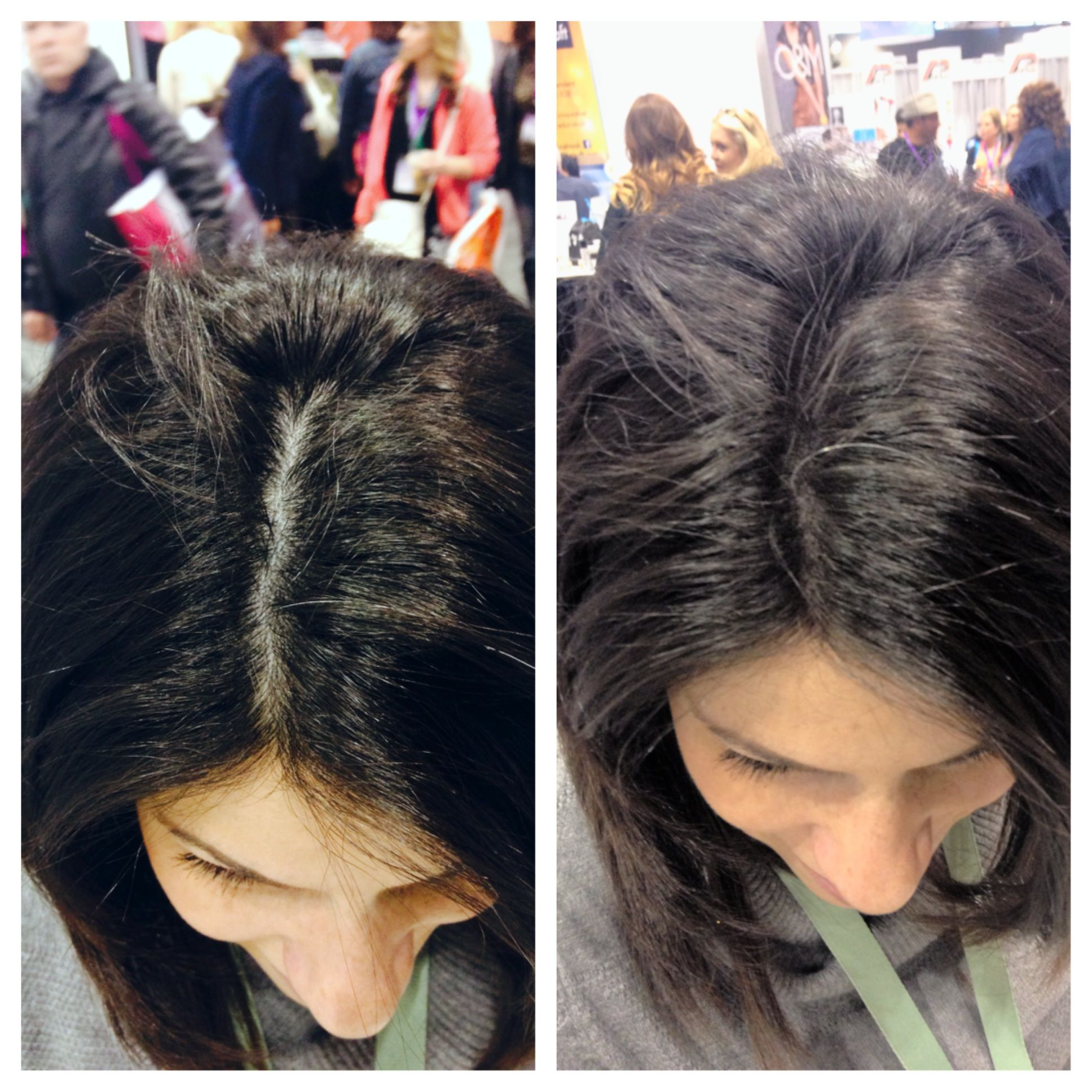beforeandafter photos picstitch nofilter Viviscal