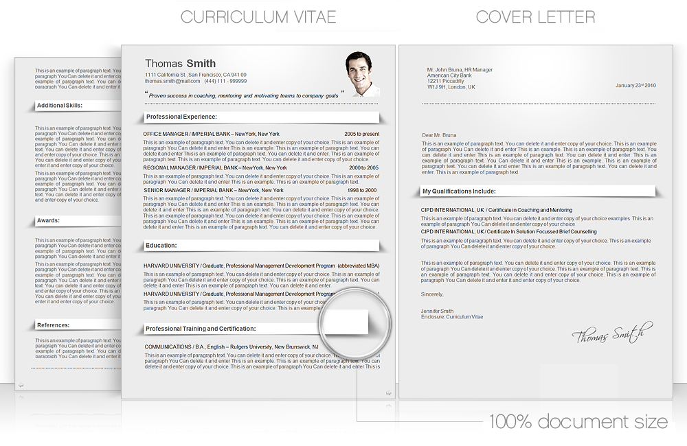 Cv Cvtemplate Coverletter Cv Word Template Cv Templates