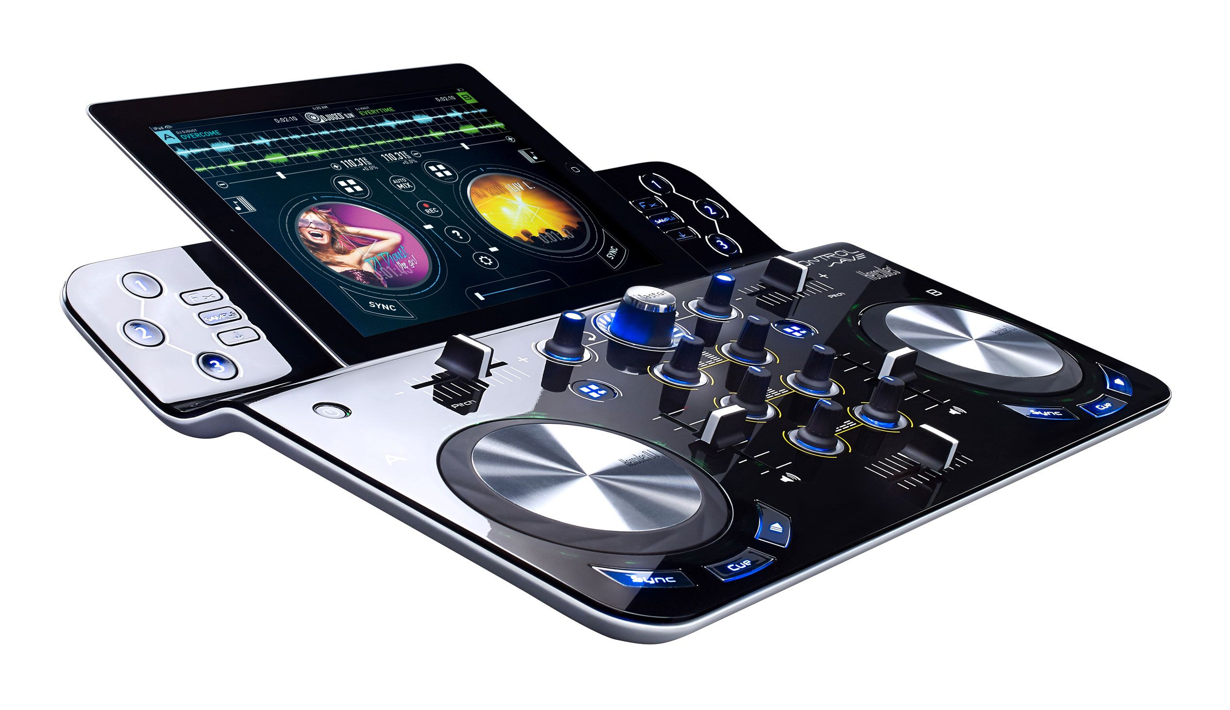 Mesa De Dj Online Ipad Goes Wireless With Hercules Djcontrolwave My Dj Life Dj