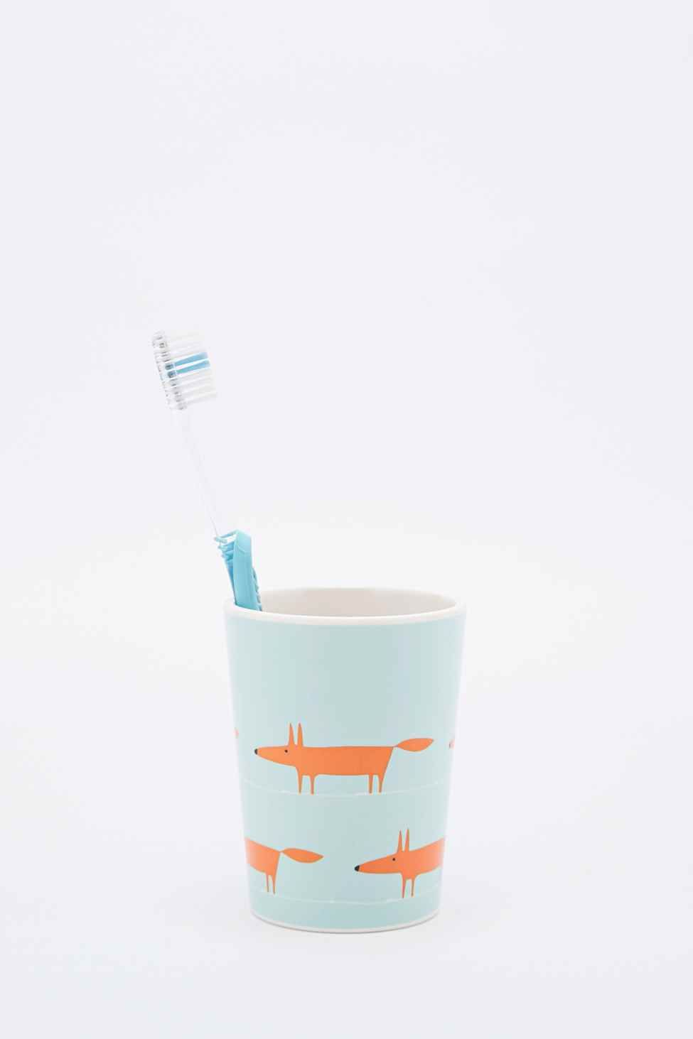 Mr Fox Toothbrush Holder - Urban Outfitters