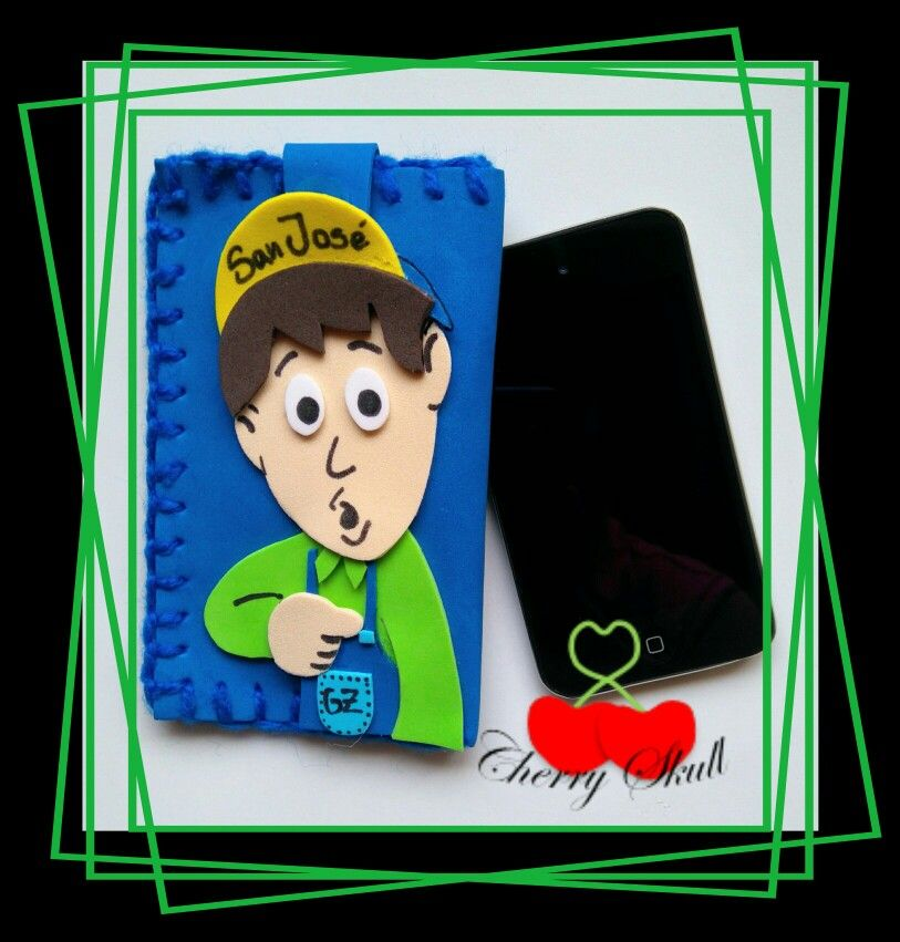 Funda para celular... Godinez by Cherry Skull