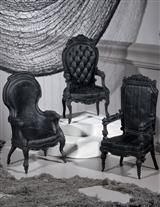 GOTHIC ARM CHAIRS (SET OF 3)