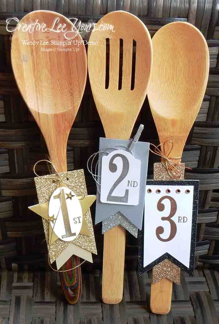 Chili cookoff prizes by wendy lee creativeleeyours stampin39 up craft ideas pinterest for Chili cook off award ideas