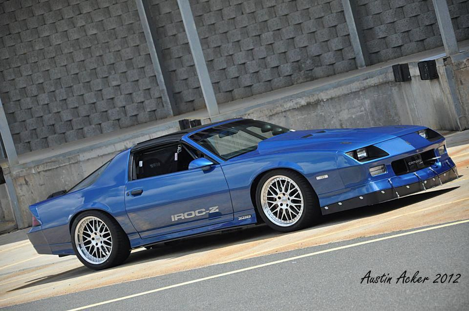 Camaro IROC-Z I had one of these in High School. I miss it.