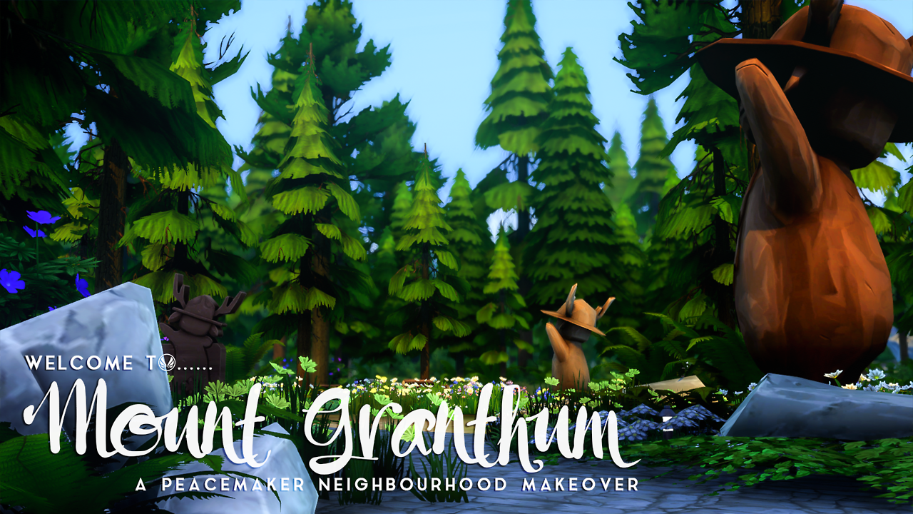 Welcome To Mount Granthum A Granite Falls Makeoveras Some People On Tumblr May Be Aware I Am Working On A World Makeover I Ha Granite Falls Makeover Sims 4