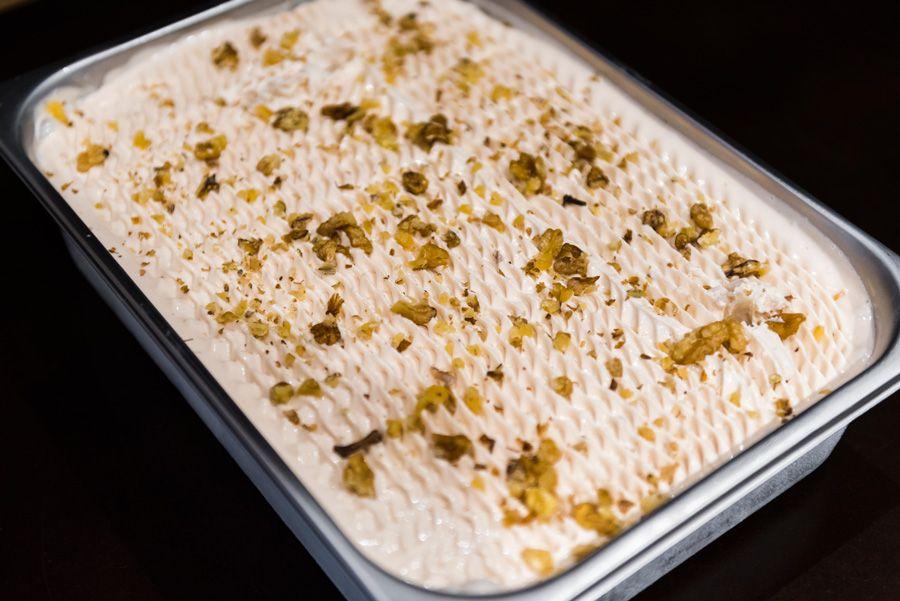 Ořechová zmrzlina v cukrárně Moje Cukrářství