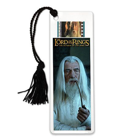Lord of the Rings Gandalf the White FilmCells™ Bookmark #zulilyfinds