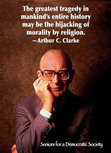 Arthur C Clarke Books Religión Filosofía Frases