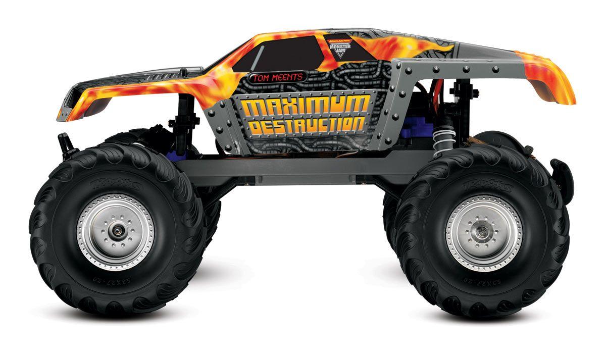 Traxxas maximum destruction monster jam rc trucksmonster