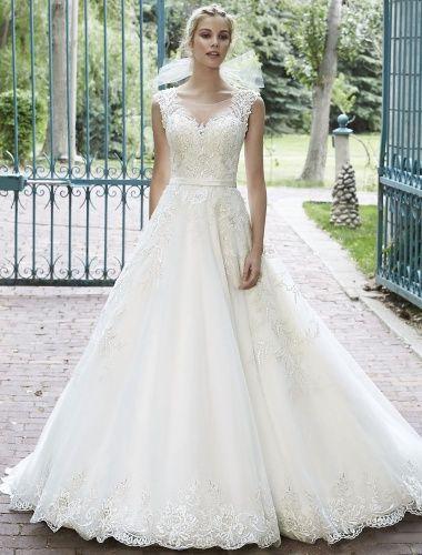Duchesse-Linie Herz-Ausschnitt ärmellos Brautkleid - $229.99 | ♡the ...