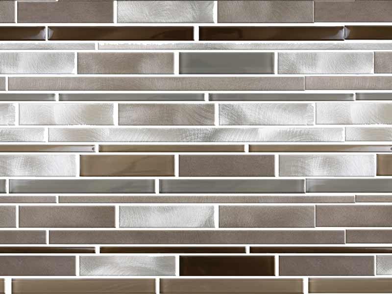 Downtown Linear Mosaic Ctm Kitchen Wall Tiles Kitchen Wall Tiles Design White Kitchen Wall Tiles