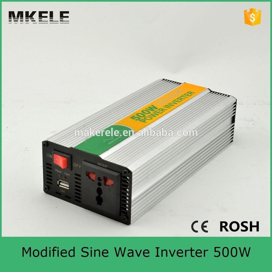 Mkm500 122g Off Grid Modified Sine Wave Dc Ac Power Inverter 12vdc To 240vac Inverter With 500w Solar Inverter Low C Sine Wave Solar Inverter Ac Power