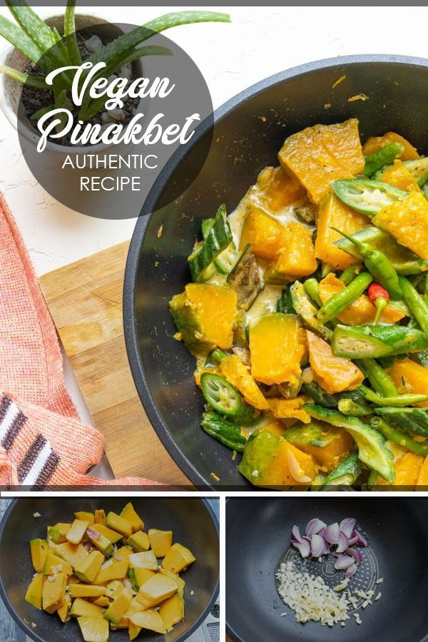 See How Colorful Healthy And Easy It Is To Do This Filipino Dish Pinakbet Vegan Vegetarian Recip Filipino Vegetable Recipes Pinakbet Recipe Pinakbet