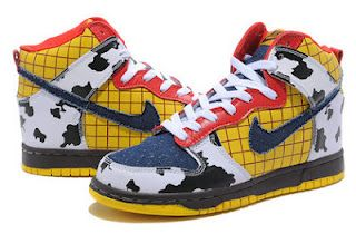 pretty nice ec83a 9f45d disney nike shoes   Woody Nike Dunk Toy Story Shoes Disney   Custom High  Tops, Custom Nike .