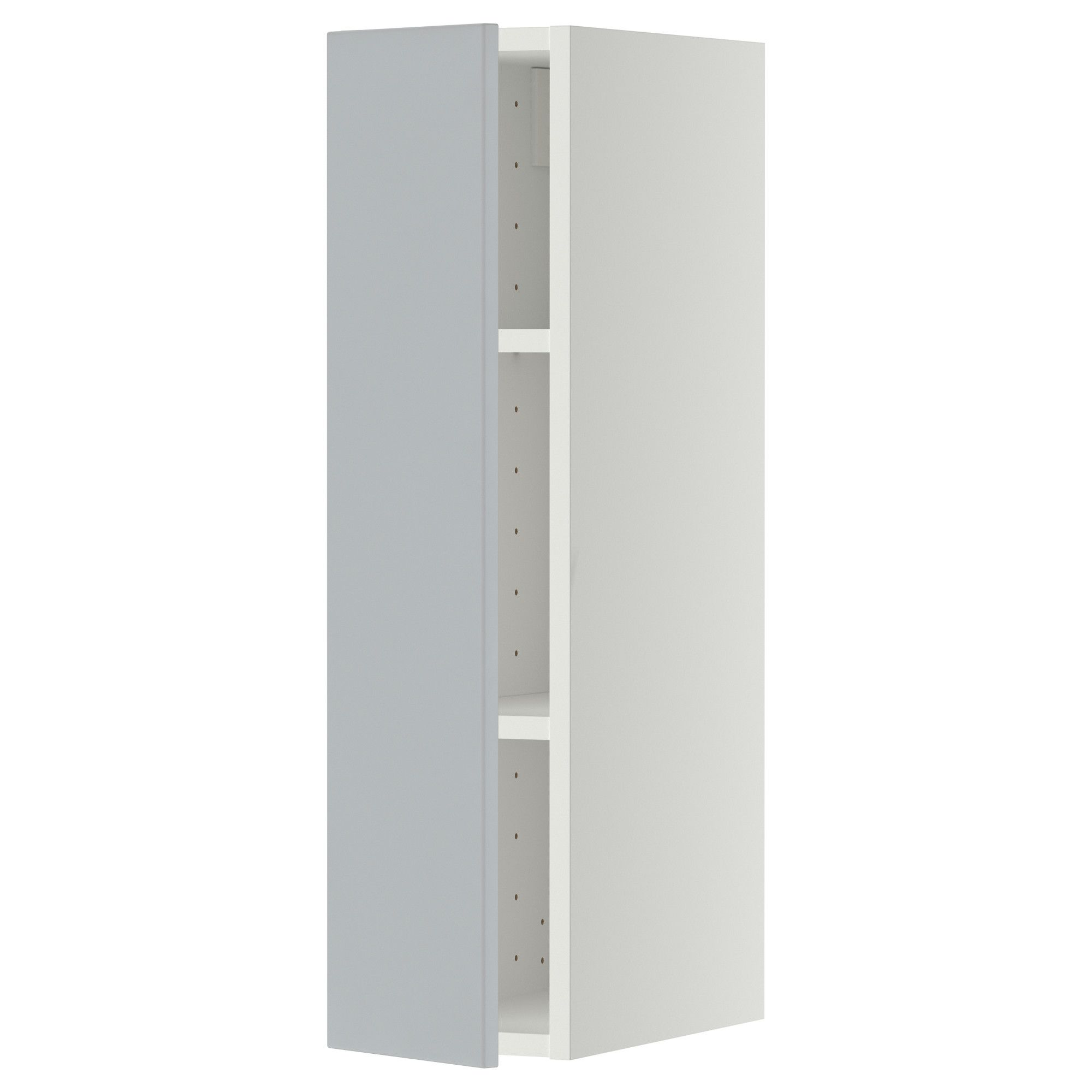 Best Metod Wall Cabinet With Shelves White Veddinge Grey Ikea 640 x 480
