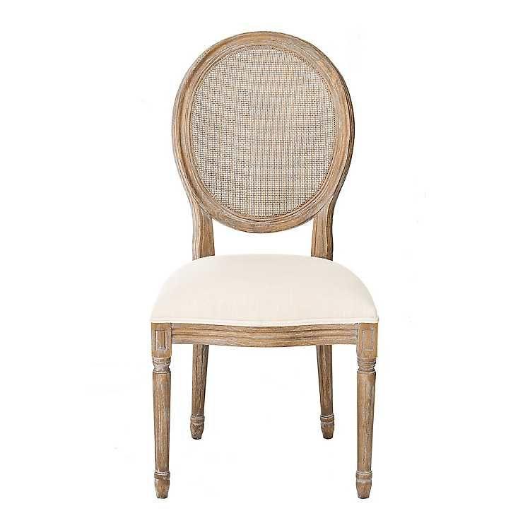Kirklands Dining Chairs Top Office Under 200 Charlotte Oatmeal Linen Mesh Back Chair