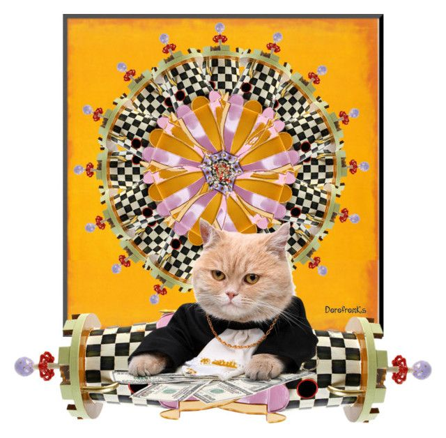 """""""Roulette for Cats - Top Art & Expression Sets for Jul 6th, 2015"""" by dorofromks on Polyvore"""
