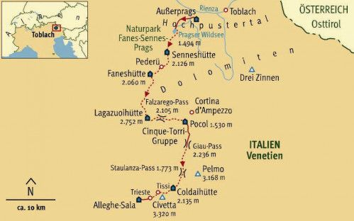 Pin Von Simone Auf Urlaub Dolomiten Hohenweg Hohenweg Und Toblach