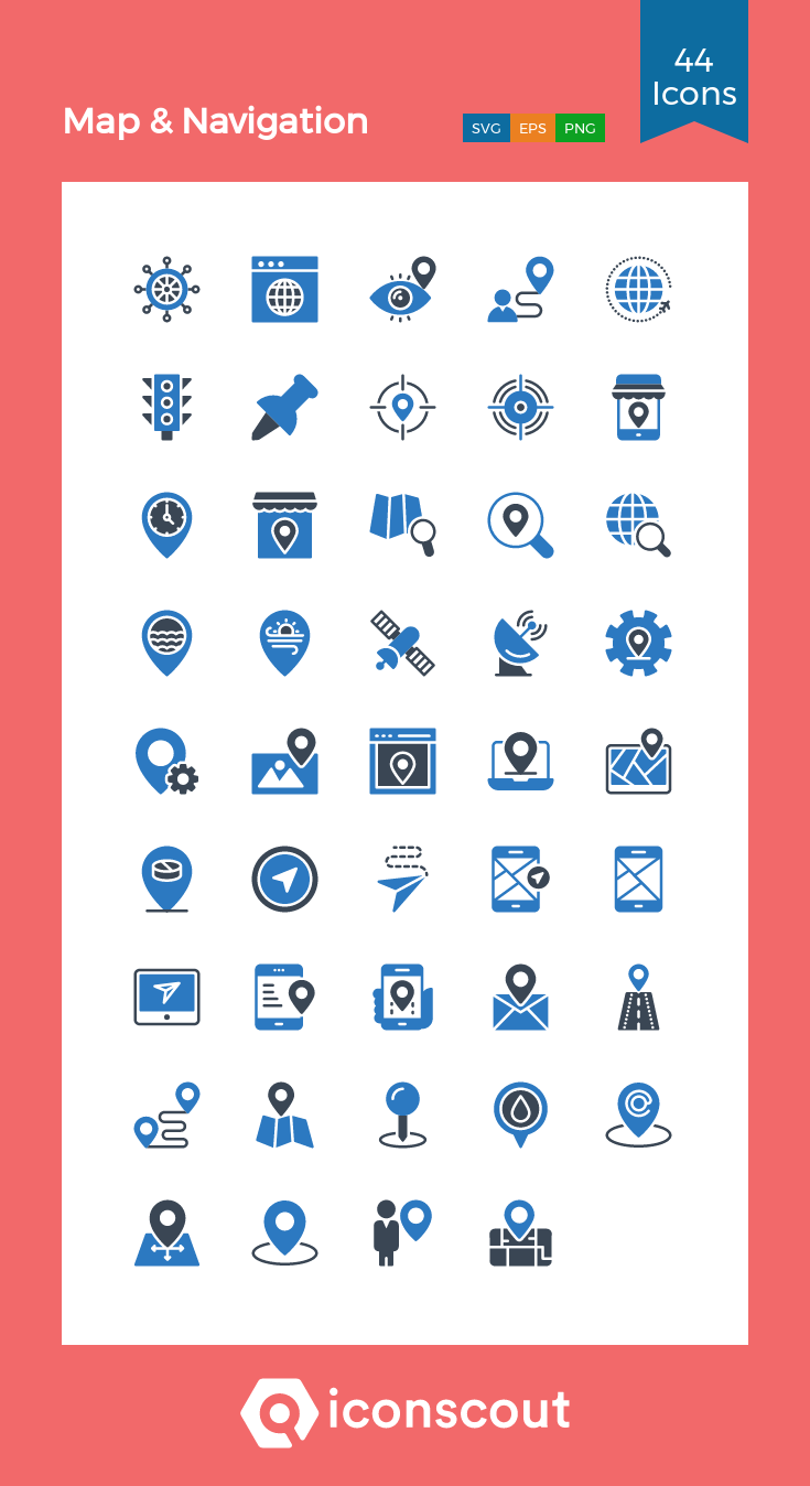 Download Navigation Icon Pack Available In Svg Png Eps Ai Icon Fonts Icon Pack Icon Navigation