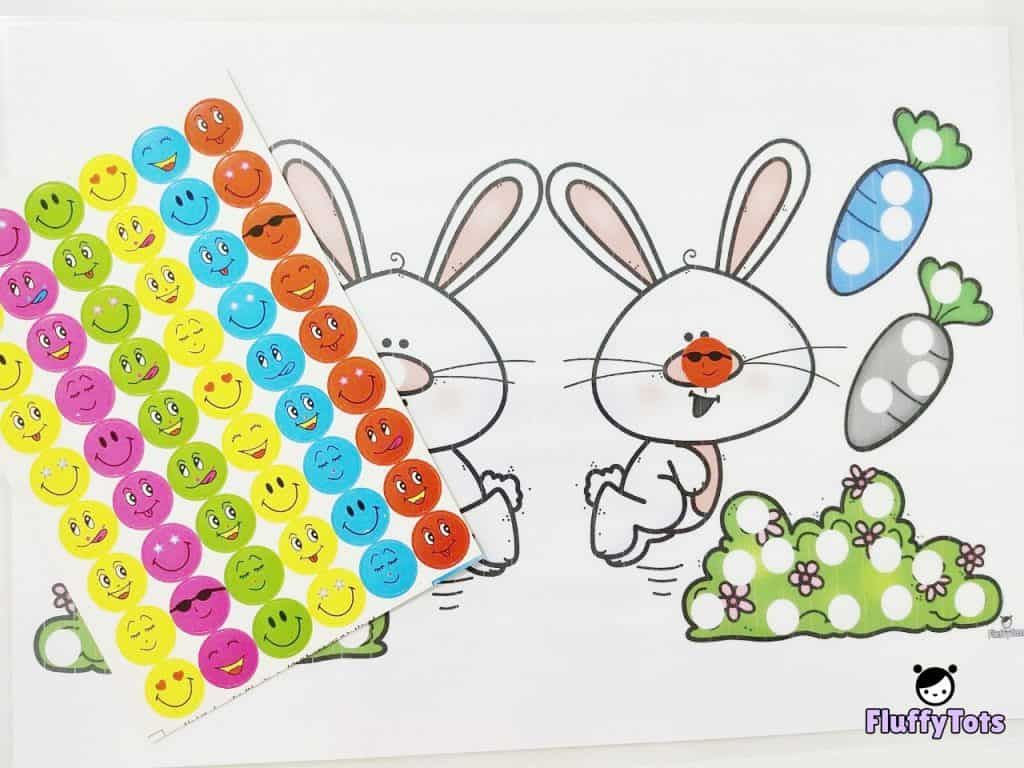 Easter Dot Activity Printable Free 3 Fun Pages For Your