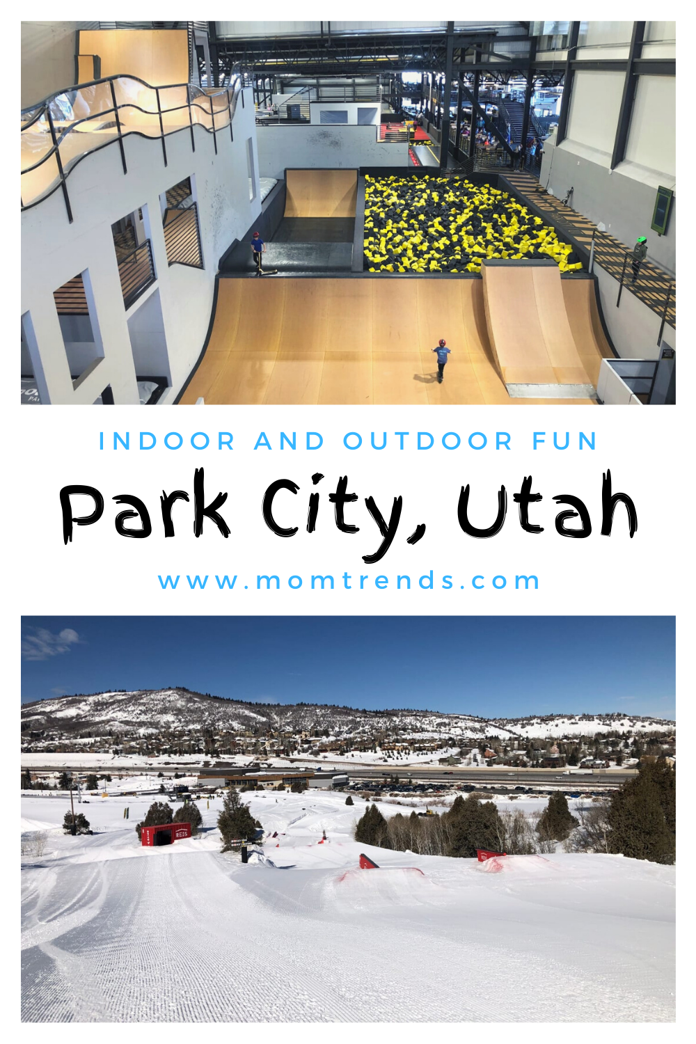 Woodward Offers Families A Cool New Way To Play In Park City In 2020 Park City Family Ski Trip Park City Utah