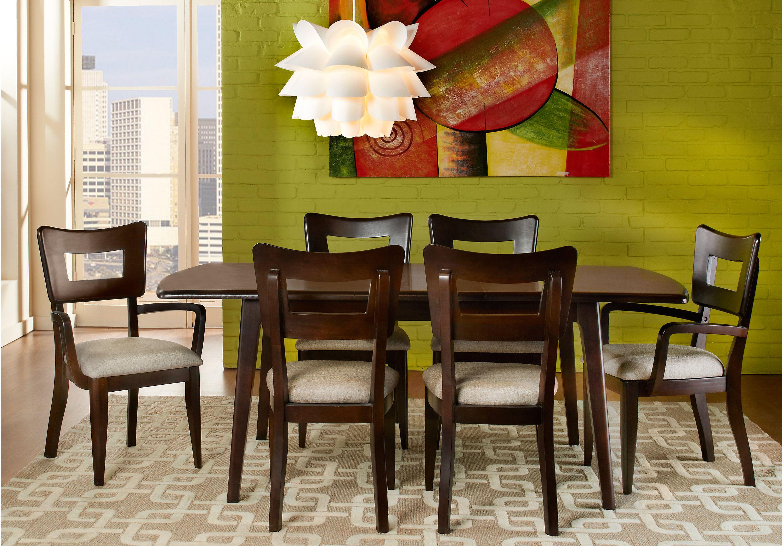 Picture Of Blaine Dark Cherry 5Pc Rectangle Dining Room From Awesome Dark Cherry Dining Room Set Inspiration Design