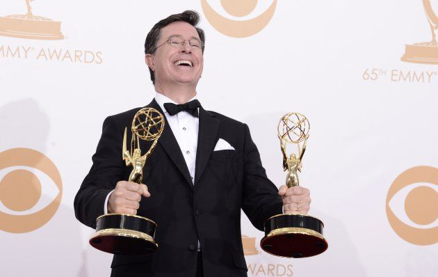 Stephen Colbert introduces 'The Late Show' to social media Stephen Colbert  #StephenColbert