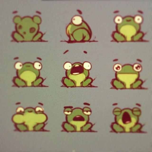 #pushai #art #concept #frogs