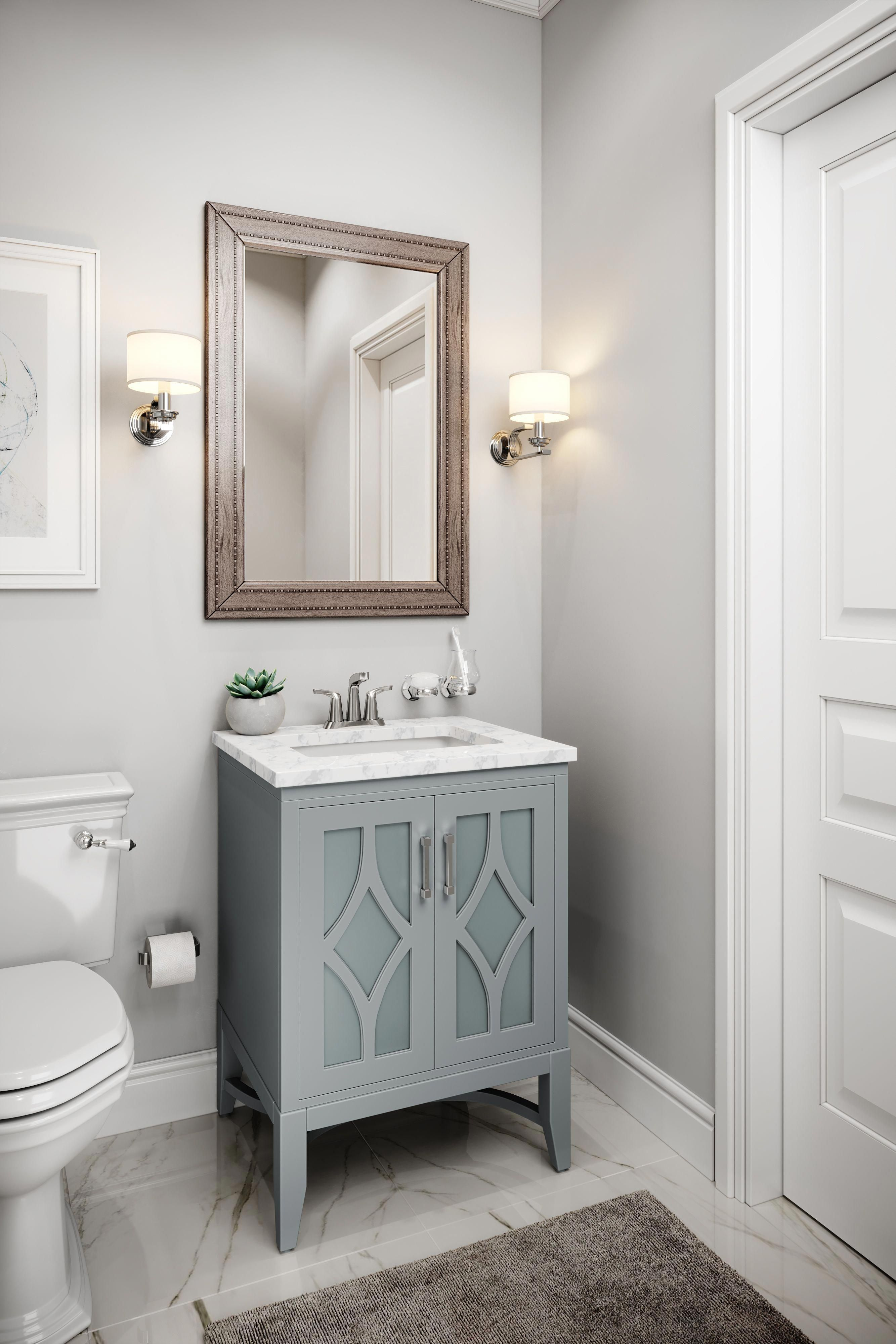 You are seeking that perfect bath vanity to fit into your ...