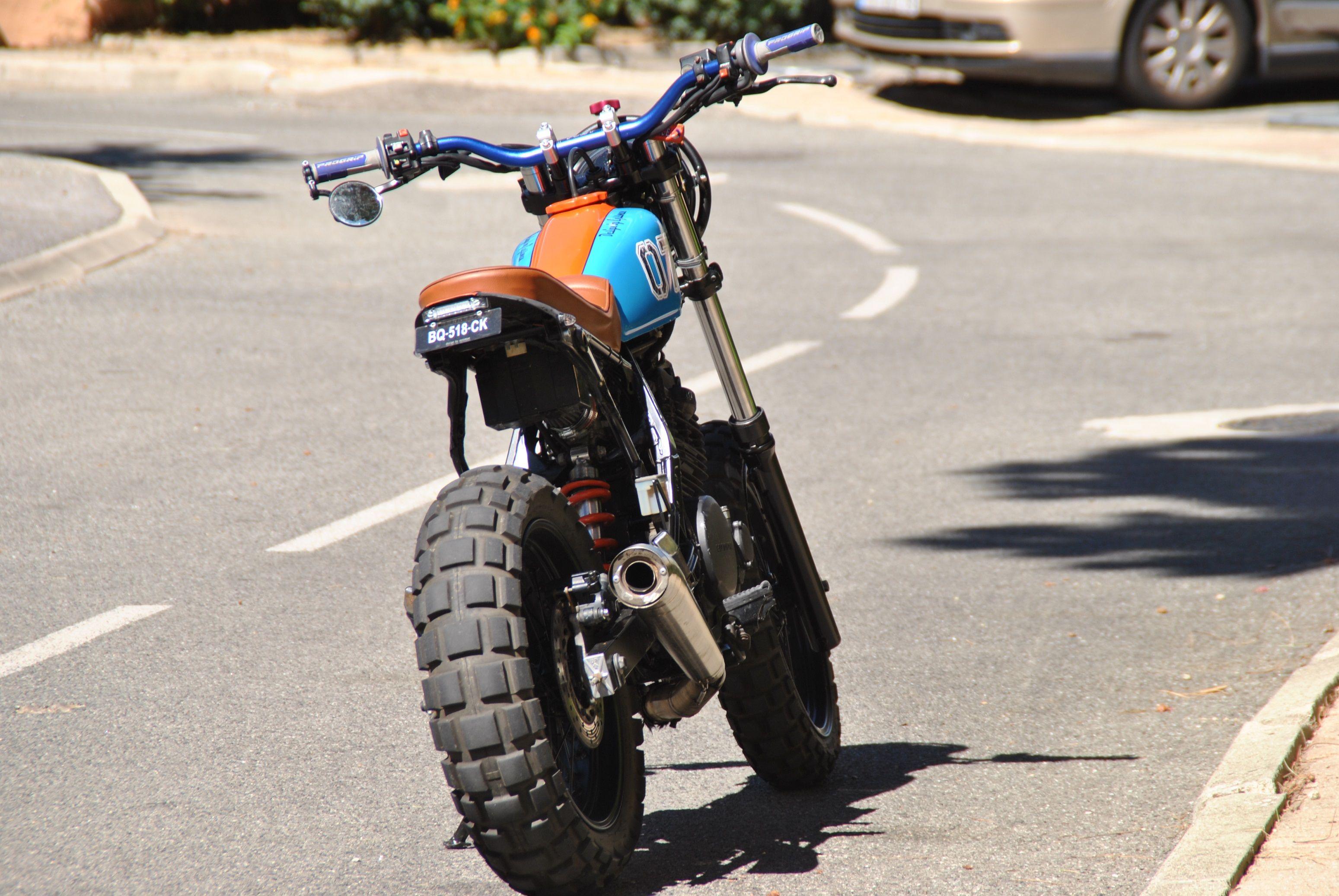 Honda dominator nx project # 1 by eyss-corp scrambler - street tracker