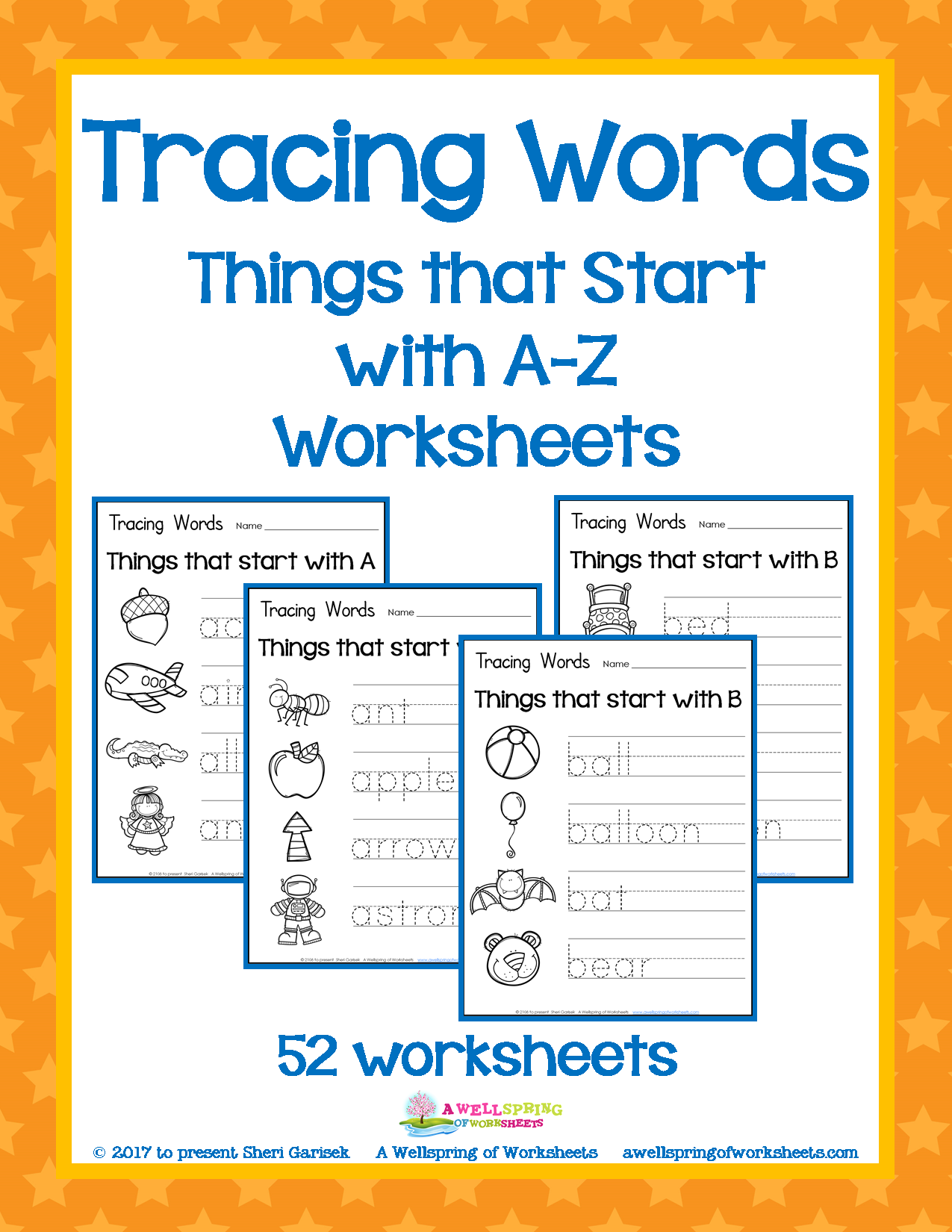 These Tracing Words Worksheets Are Great For Letter