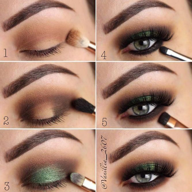 How To Apply Eyeshadow For Smokey Eyes Makeup # ...