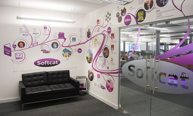 wall murals office. At Softcat In Manchester Design Wall Installed These Boldly Designed Office Murals To Create A Stimulating And Vibrant Working Environment