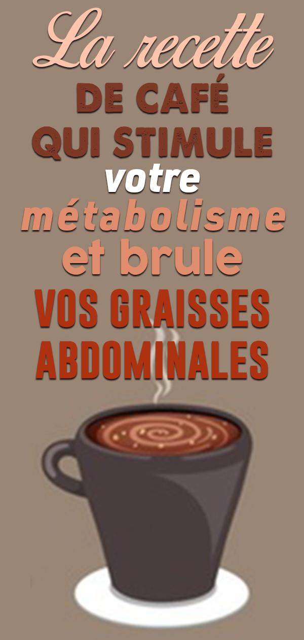 Mettez ces 3 ingrédients dans votre café … Votre métabolisme sera 3X plus rapide pour faire fondre la graisse du ventre !