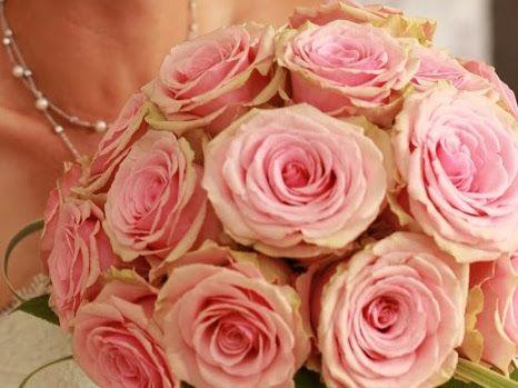 Ma création, roses Géraldines.