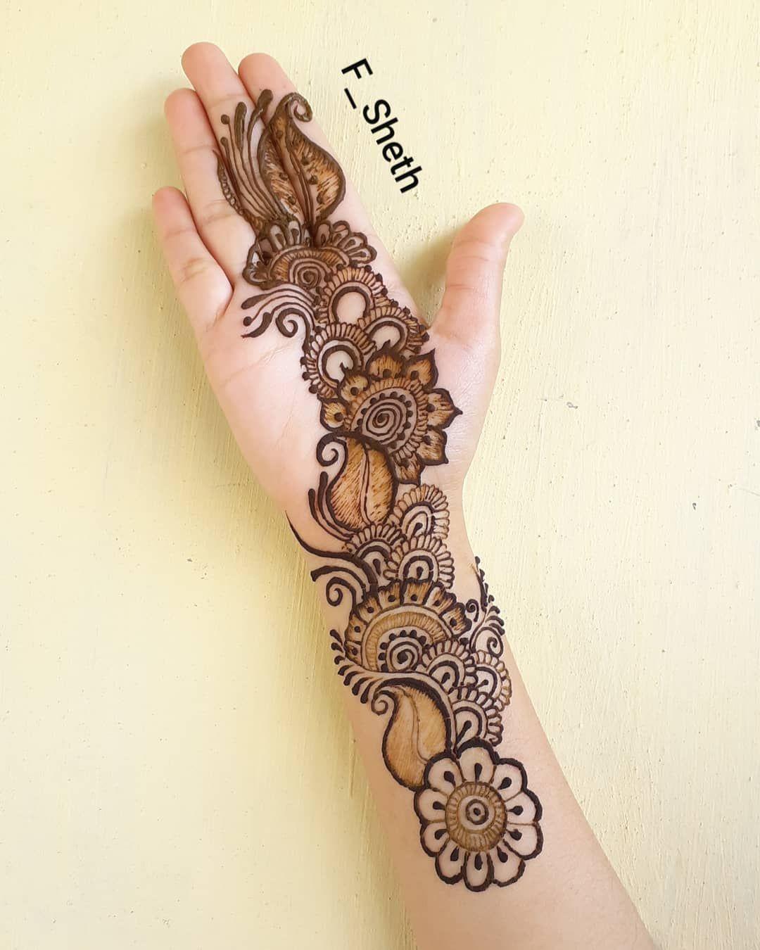 Go To My Channel For Tutorial Video Link In Bio Henna Hennadesign Hennaart Hen Latest Arabic Mehndi Designs Mehndi Designs For Girls Latest Mehndi Designs