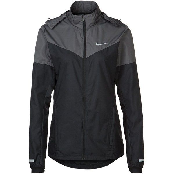 promo code cdc94 b7014 Nike Performance VAPOR Sports jacket dark grey volt reflective silver ( 125)  ❤ liked on Polyvore featuring activewear, activewear jackets, jackets, nike,  ...