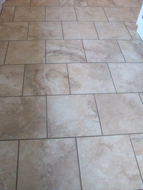 13 square tile brick layer ideas