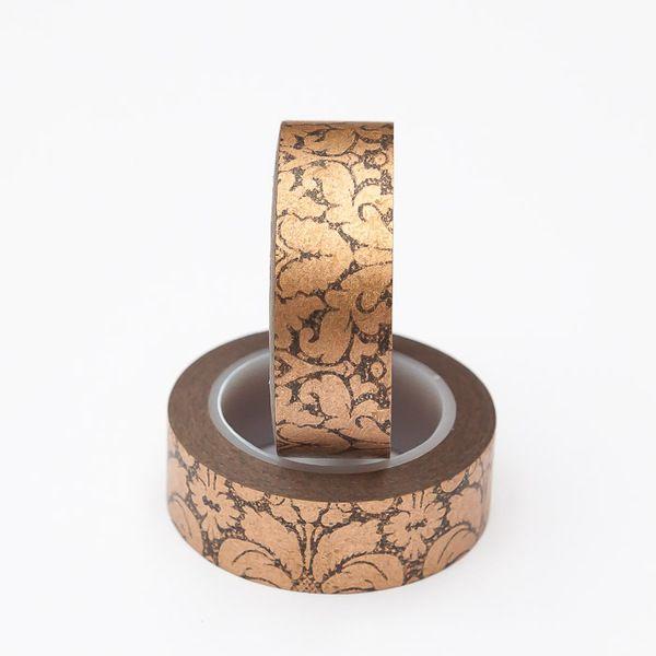 Washi Tape: Ornamente schwarz/kupfer von me and my button auf DaWanda.com