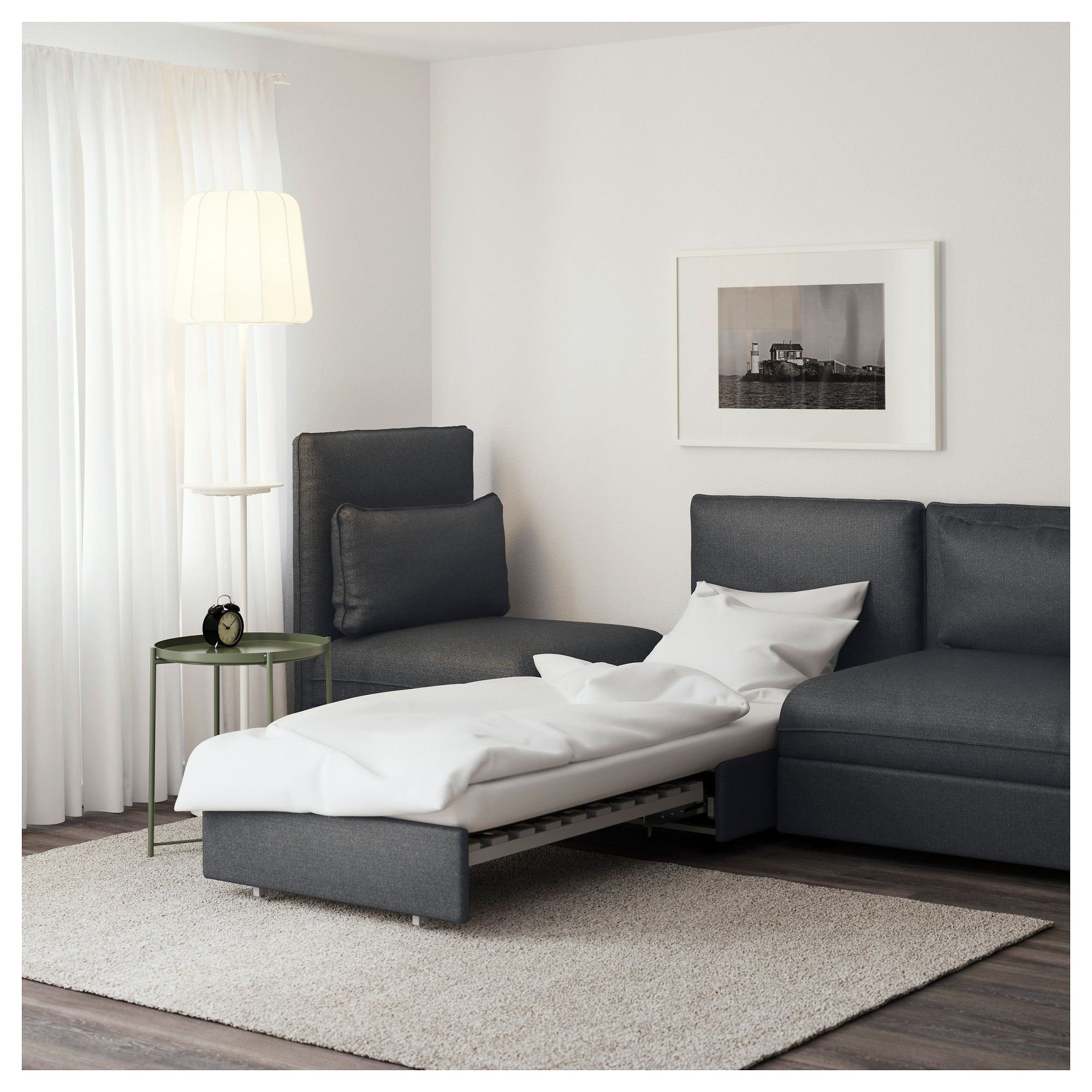 Affordable Ikea Vallentuna Sleeper Sectional Seat Hillared