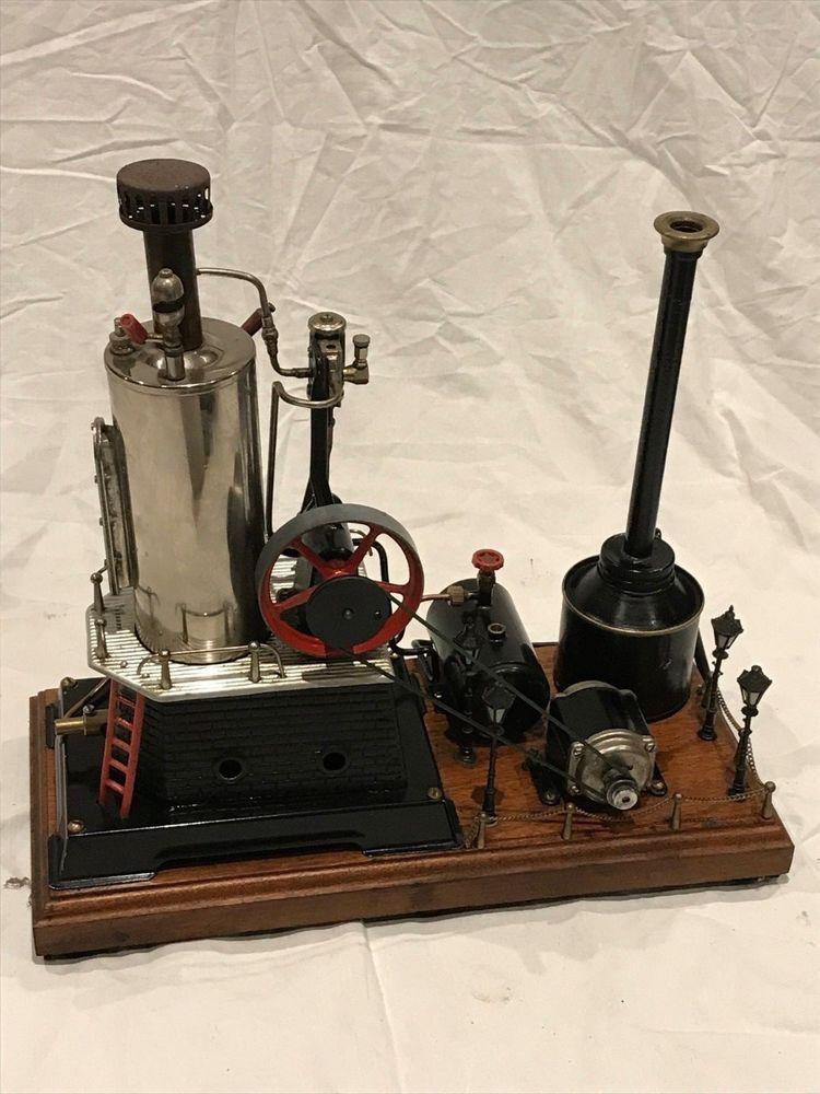 Wilesco Toy steam engine D455 Toy Steam Engine, Antique Toys, Engineering, Vintage  Toys