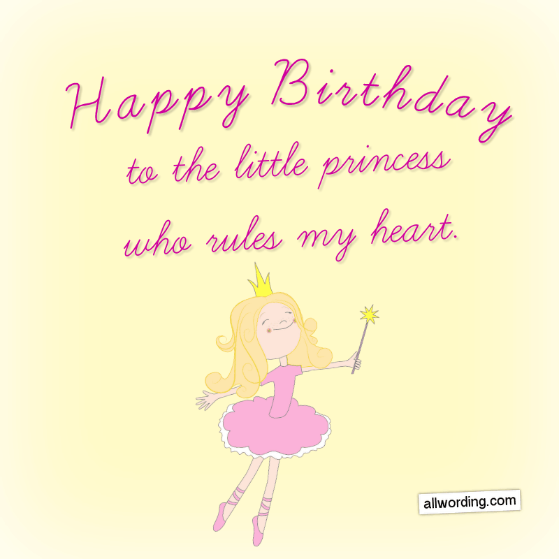 Happy Birthday To The Little Princess Who Rules My Heart Happybirthdaydau Birthday Quotes For Daughter Happy Birthday Mom Quotes Birthday Wishes For Daughter