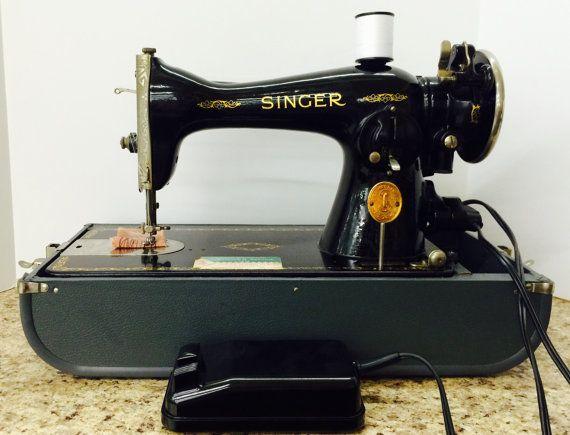 40 Vintage 4040 Singer Sewing Machine By MayzeebelleVintage Enchanting 1935 Singer Sewing Machine