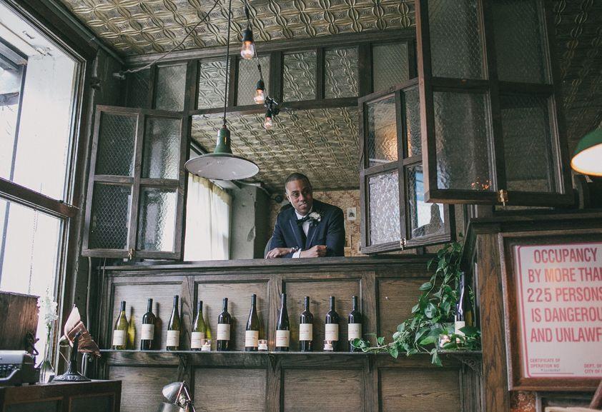 Megan & Artis…A Wedding at the Brooklyn Winery, Brooklyn