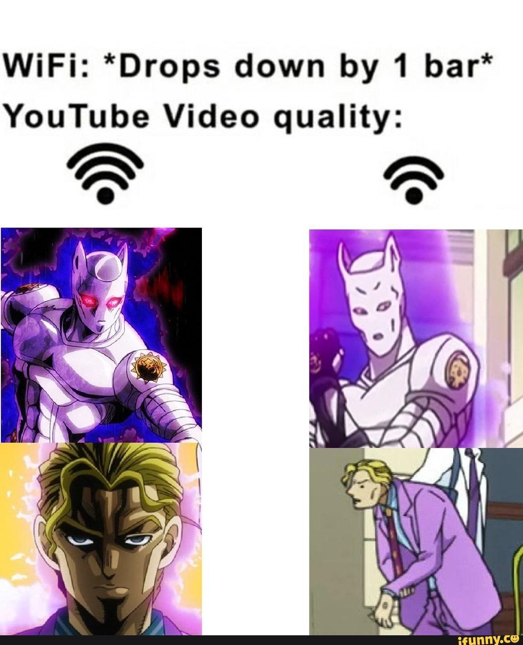 Wifi Drops Down By 1 Bar Youtube Video Quality Ifunny