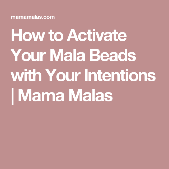 How to Activate your Mala Beads and Crystal Jewelry with ...