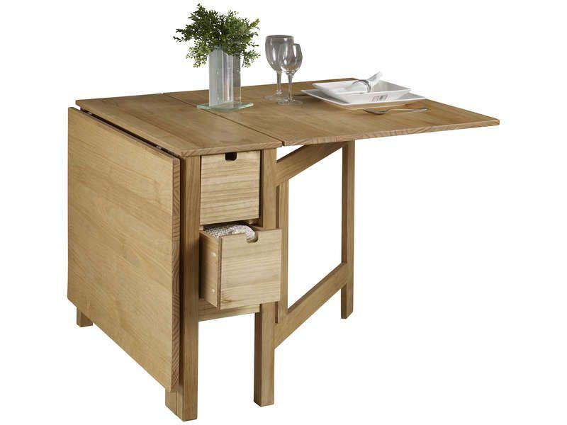 Table Pliante Julie Vente De Table Conforama 199 30 139 83 Table Pliante Table Pliante Bois Table A Manger Pliante