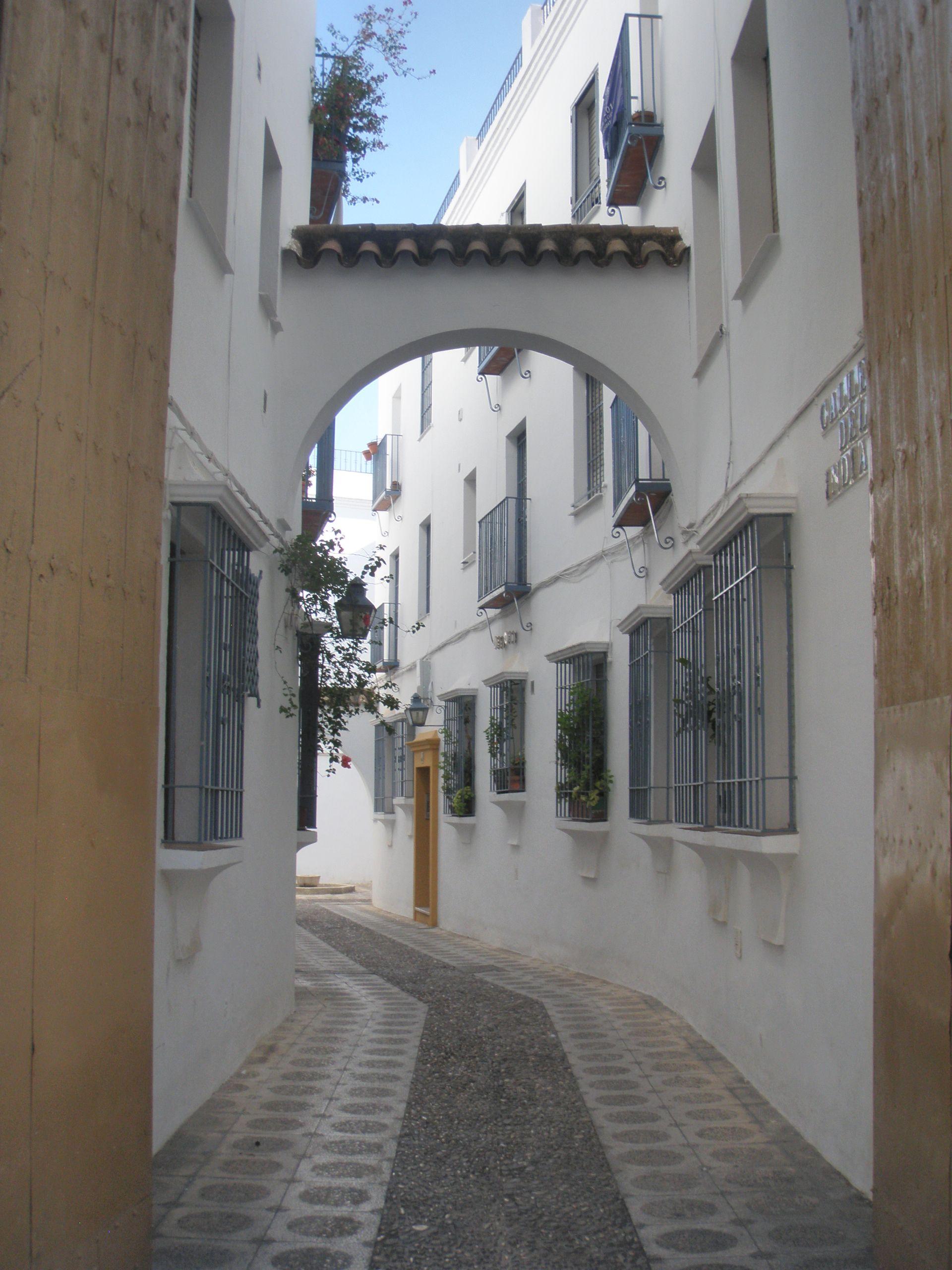 Una calle de Córdoba, España
