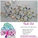 Get in with your chance to win a number of things including a set of 6 wine glass charms from Neck Art